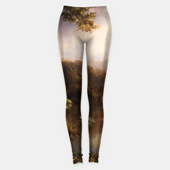 Miniaturka The River of Light by Frederic Edwin Church Leggings, Live Heroes