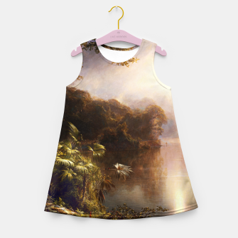 Thumbnail image of The River of Light by Frederic Edwin Church Girl's summer dress, Live Heroes