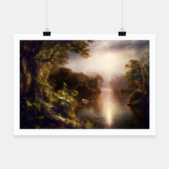Thumbnail image of The River of Light by Frederic Edwin Church Poster, Live Heroes
