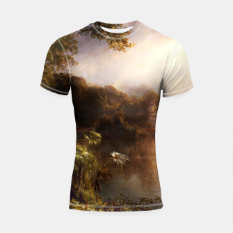 Thumbnail image of The River of Light by Frederic Edwin Church Shortsleeve rashguard, Live Heroes