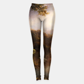 Thumbnail image of The River of Light by Frederic Edwin Church Leggings, Live Heroes