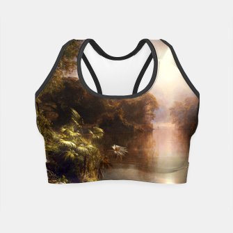 Thumbnail image of The River of Light by Frederic Edwin Church Crop Top, Live Heroes
