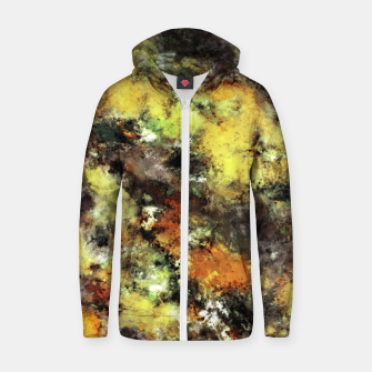 Thumbnail image of Leaning strata Zip up hoodie, Live Heroes