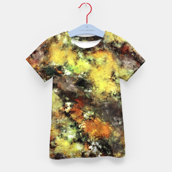 Thumbnail image of Leaning strata Kid's t-shirt, Live Heroes