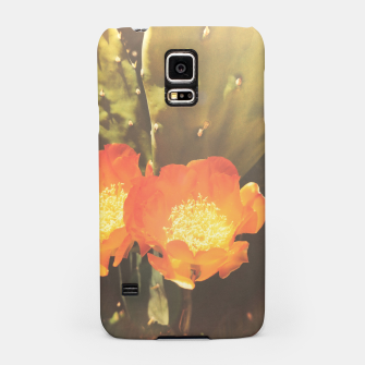 Thumbnail image of cactus blossom sunbeams Samsung Case, Live Heroes