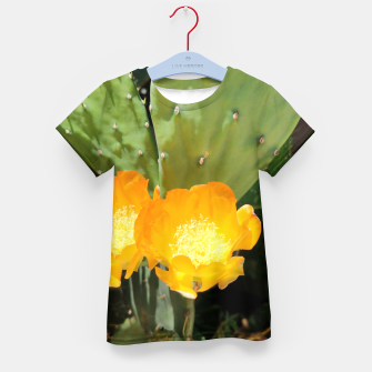 Thumbnail image of cactus blossom std Kid's t-shirt, Live Heroes