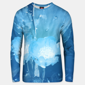 Thumbnail image of cactus blossom wb Unisex sweater, Live Heroes