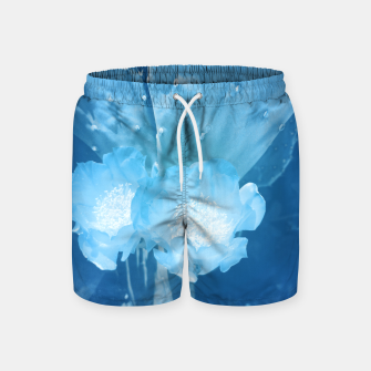 Thumbnail image of cactus blossom wb Swim Shorts, Live Heroes