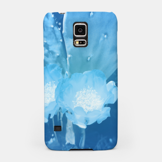 Thumbnail image of cactus blossom wb Samsung Case, Live Heroes