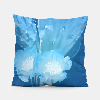 Thumbnail image of cactus blossom wb Pillow, Live Heroes