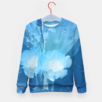 Thumbnail image of cactus blossom wb Kid's sweater, Live Heroes