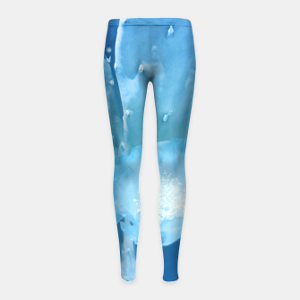 Thumbnail image of cactus blossom wb Girl's leggings, Live Heroes