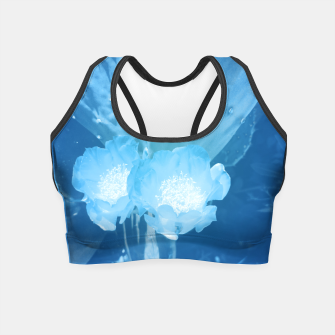 Thumbnail image of cactus blossom wb Crop Top, Live Heroes