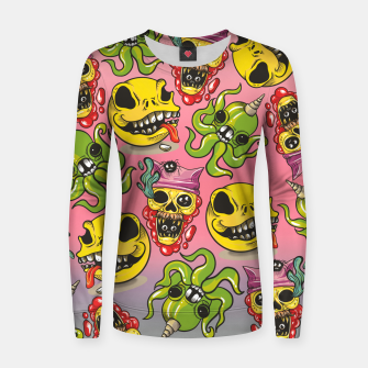 Thumbnail image of Cool Creatures Women sweater, Live Heroes