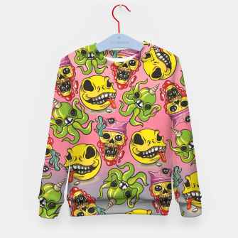 Thumbnail image of Cool Creatures Kid's sweater, Live Heroes