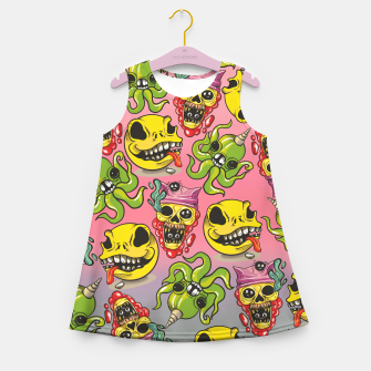 Thumbnail image of Cool Creatures Girl's summer dress, Live Heroes