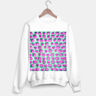 Thumbnail image of Love Robots and other stuff Sweater regular, Live Heroes