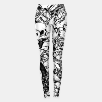 Miniatur Men and Mutants bw Leggings, Live Heroes