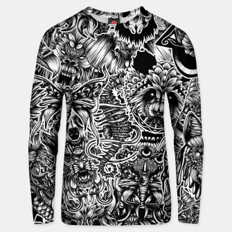 Thumbnail image of Floral animals Unisex sweater, Live Heroes