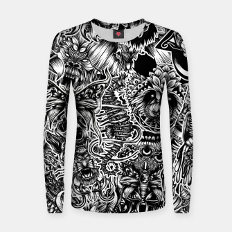 Miniatur Floral animals Women sweater, Live Heroes