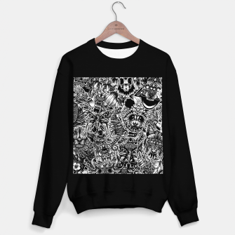 Miniatur Floral animals Sweater regular, Live Heroes