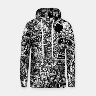 Thumbnail image of Floral animals Hoodie, Live Heroes