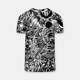 Thumbnail image of Floral animals T-shirt, Live Heroes