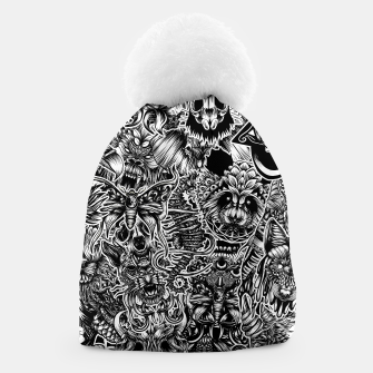Thumbnail image of Floral animals Beanie, Live Heroes