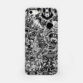 Miniatur Floral animals iPhone Case, Live Heroes