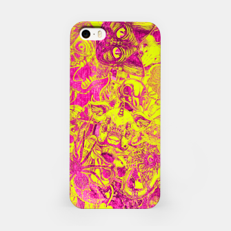 Miniatur Pink Stickers iPhone Case, Live Heroes