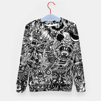 Miniatur Floral animals Kid's sweater, Live Heroes