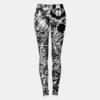 Miniatur Floral animals Leggings, Live Heroes
