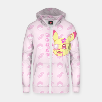 Thumbnail image of Kawaii Menhera Pikachu Zip up hoodie, Live Heroes