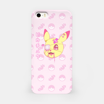Thumbnail image of Kawaii Menhera Pikachu iPhone Case, Live Heroes
