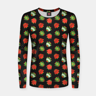 Thumbnail image of Ugly Christmas Sweater Pattern Women sweater, Live Heroes