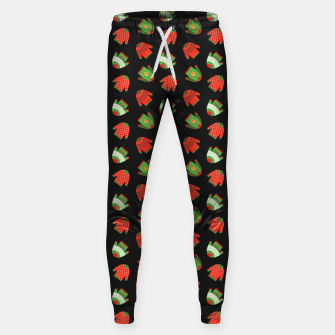 Thumbnail image of Ugly Christmas Sweater Pattern Sweatpants, Live Heroes
