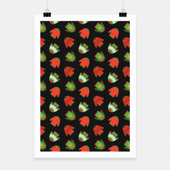 Miniaturka Ugly Christmas Sweater Pattern Poster, Live Heroes