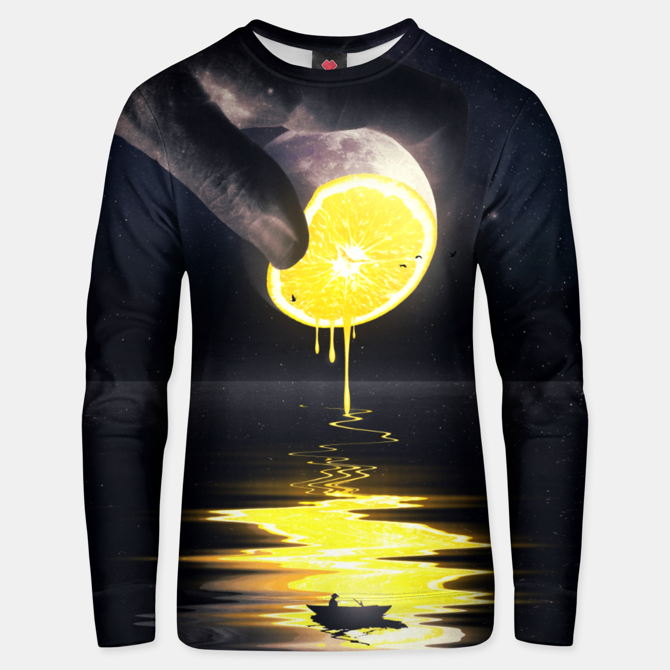 Image of Le Moon Unisex sweater - Live Heroes