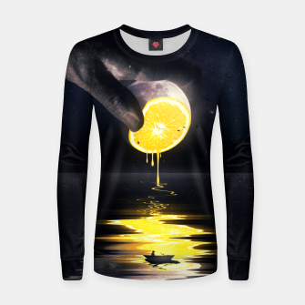 Thumbnail image of Le Moon Women sweater, Live Heroes