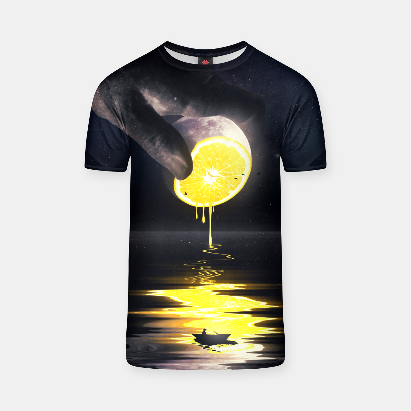 Image of Le Moon T-shirt - Live Heroes
