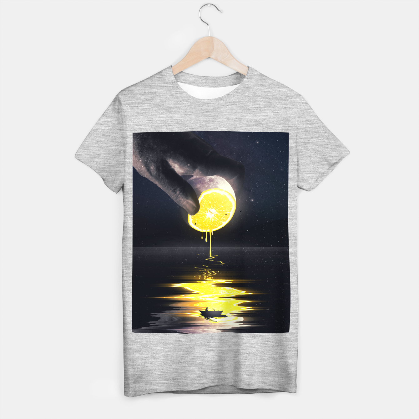 Foto Le Moon T-shirt regular - Live Heroes