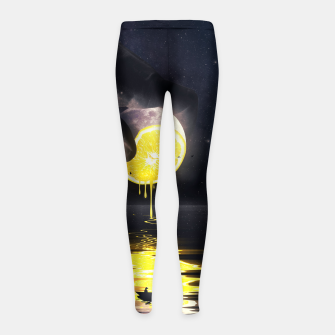 Le Moon Girl's leggings Bild der Miniatur