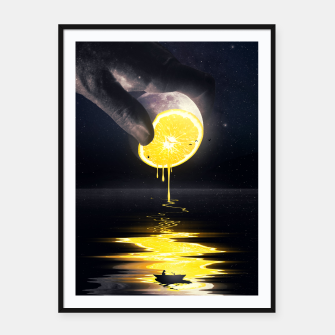 Thumbnail image of Le Moon Framed poster, Live Heroes