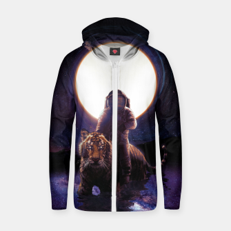 Thumbnail image of Hunter Zip up hoodie, Live Heroes