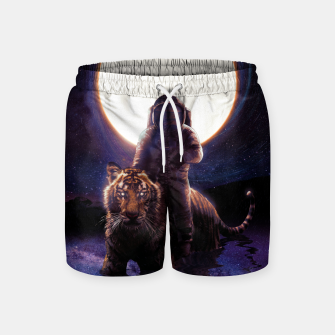 Miniatur Hunter Swim Shorts, Live Heroes