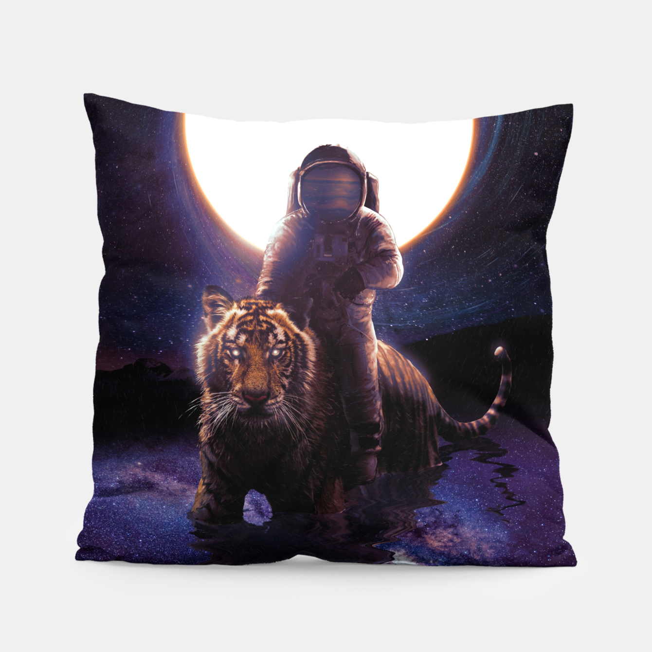 Image of Hunter Pillow - Live Heroes