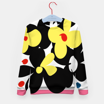 Thumbnail image of Sahara Street Floral Box Kid's sweater, Live Heroes