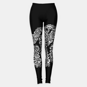 Thumbnail image of Tentacles Black Leggings, Live Heroes