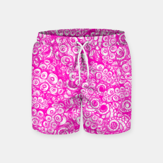 Thumbnail image of Pink Tentacles  Swim Shorts, Live Heroes