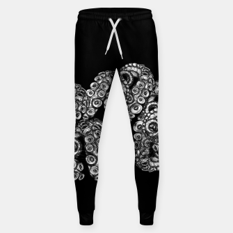 Miniatur Tentacles Black Sweatpants, Live Heroes